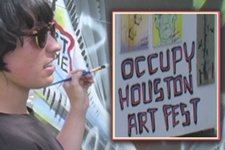 Occupy Houston Art Fest