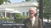 Fred Stawitz at West Wing of The White House